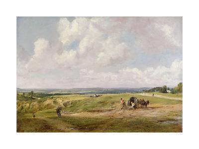 Hampstead Heath, C.1820-John Constable-Giclee Print
