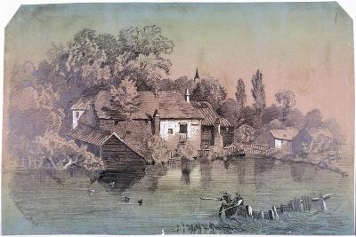Hampstead Heath, Hampstead, London, C1850-F Hodges-Giclee Print