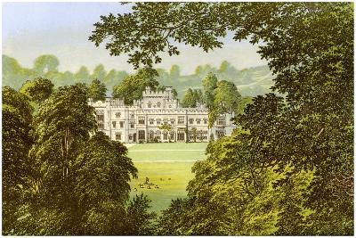 Hampton Court, Herefordshire, Home of the Arkwright Family, C1880-Benjamin Fawcett-Giclee Print