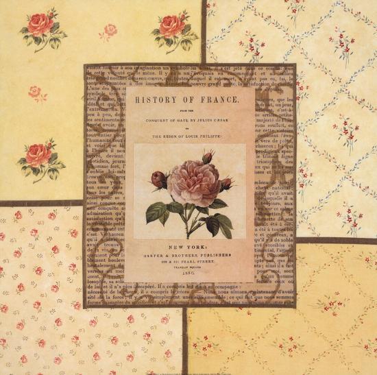 Hampton Roses II- Beckesh-Art Print