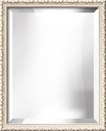 HAMPTON White Mirror--Wall Mirror