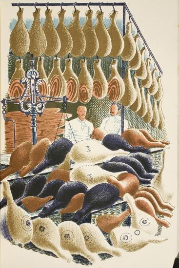 Hams-Eric Ravilious-Giclee Print