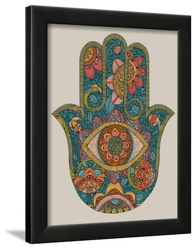 Hamsa-Valentina Ramos-Framed Art Print