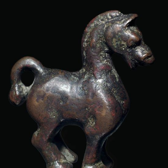 Han Dynasty Chinese bronze horse-Unknown-Giclee Print