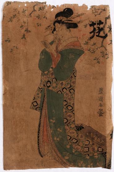 Hana-Utagawa Toyokuni-Giclee Print