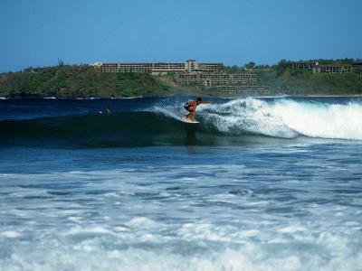 Hanalei Bay, Kauai, HI-Michele Burgess-Photographic Print