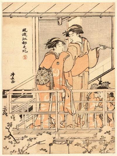 Hanami-Torii Kiyonaga-Giclee Print