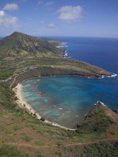 Hanauma Bay, Oahu, Hawaii-Douglas Peebles-Photographic Print
