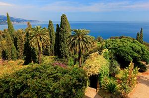 Hanbury Botanic Gardens near Ventimiglia, Province of Imperia, Liguria, Italy