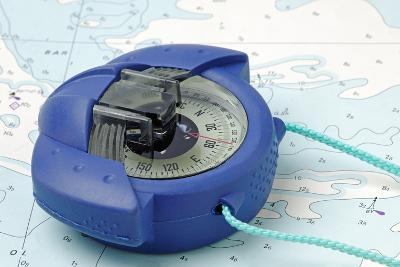 Hand Bearing Compass-roger ashford-Photographic Print