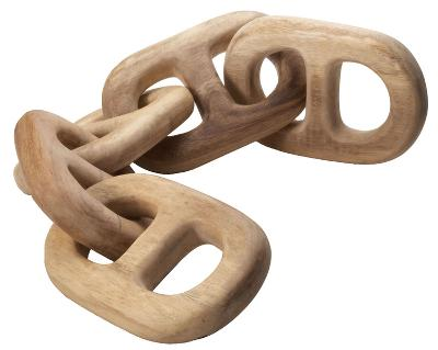 Hand Carved 5 Link Chain--Home Accessories