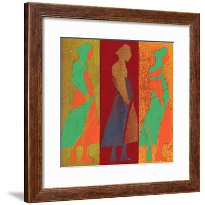 Hand Drawn Fashionable Artistic Illustration-Alina Shakhovets-Framed Premium Giclee Print