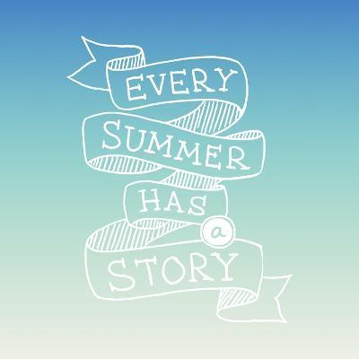 Hand Drawn Summer Quotation, Vector Illustration-Ms.Moloko-Art Print