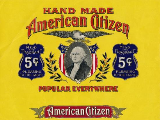 'Hand Made American Citizen', c20th century-Unknown-Giclee Print