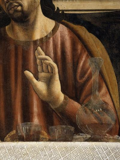 Hand of Saint James with Glasses and Carafe, from the Last Supper, Fresco C.1444-50 (Detail)-Andrea Del Castagno-Giclee Print
