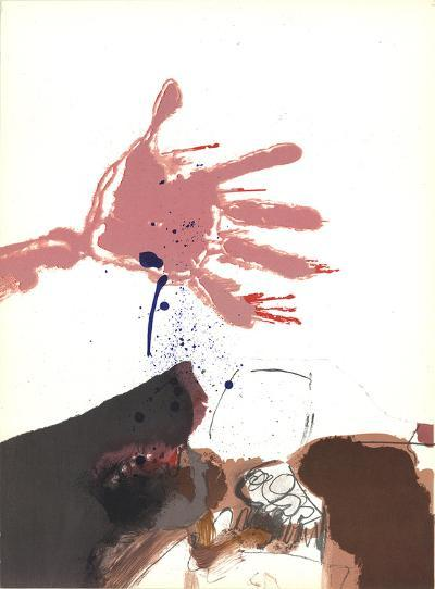 Hand out-Paul Rebeyrolle-Art Print