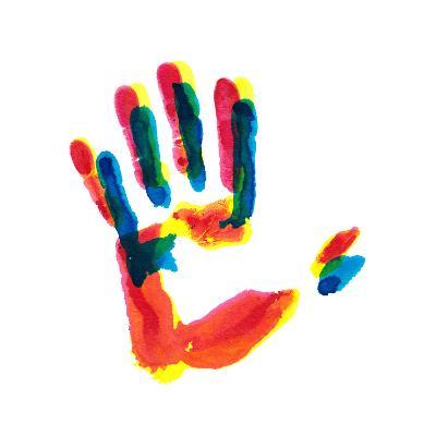 Hand Print-okalinichenko-Art Print