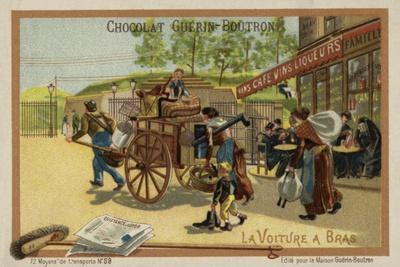 Handcart--Framed Giclee Print