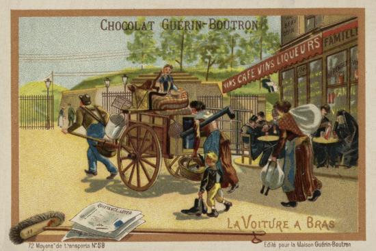 Handcart--Giclee Print
