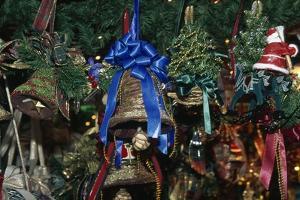 Handcrafted Christmas Bells, Domplatz Christmas Market, Salzburg, Austria