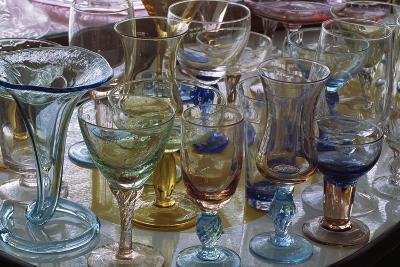 Handcrafted Glasses at Vetreria S.A.V.Ehandmade, Empoli, Tuscany, Italy--Giclee Print