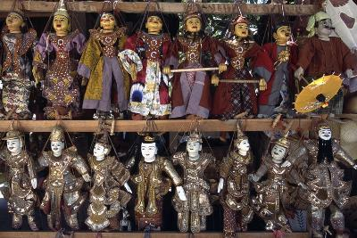 Handcrafted Puppets, Mandalay, Myanmar--Giclee Print