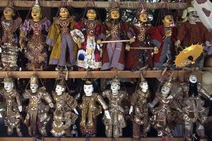 Handcrafted Puppets, Mandalay, Myanmar