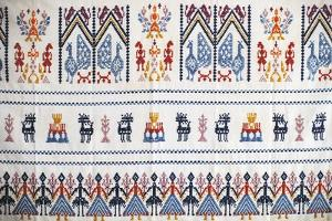 Handcrafted Traditional Fabric, Crafts Pavilion, Sassari, Sardinia, Italy