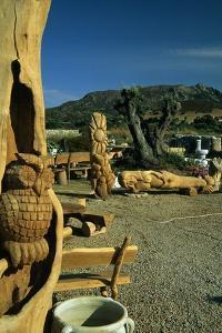 Handcrafted Wooden Sculptures, Porto Rotondo, Sardinia, Italy
