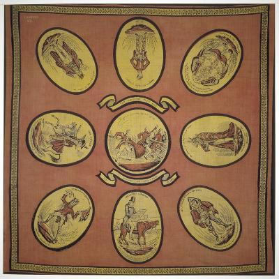 Handkerchief Commemorating Several Events in the Mayoralty of Alderman Sir John Key, 1831--Giclee Print