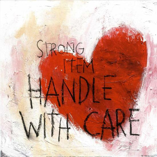 Handle With Care--Art Print