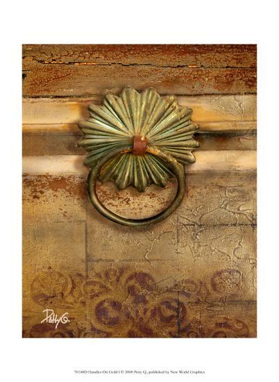 Handles on Gold I-Patty Q^-Art Print