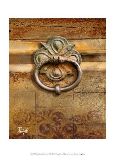 Handles on Gold II-Patty Q^-Art Print