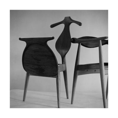 Handmade Chair and Clotheshorse by Hans Wegner of Denmark--Premium Photographic Print