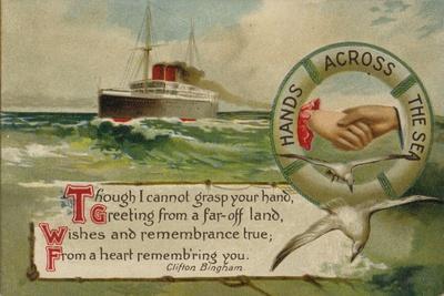 Hands across the Sea--Giclee Print