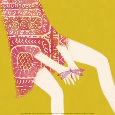 Hands And Dragonfly-Nicole De Rueda-Art Print