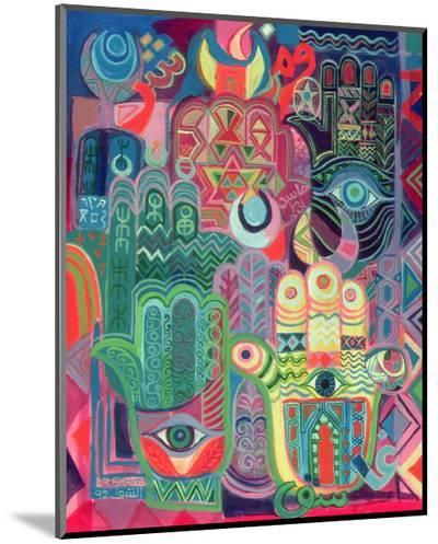 Hands as Amulets II, 1992-Laila Shawa-Mounted Print