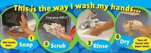 Handwashing Poster ABC