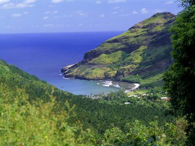 Hane Bay, Ua Huka Island, Marquesas Islands Archipelago, French Polynesia, South Pacific Islands-J P De Manne-Photographic Print