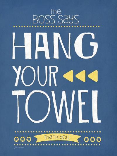 Hang Your Towel-Jo Moulton-Art Print