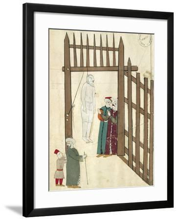 Hanging Christian Prisoners--Framed Giclee Print