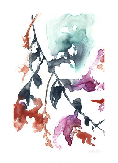 Hanging Fuchsia I-Jennifer Goldberger-Limited Edition