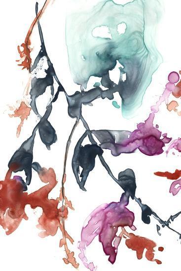 Hanging Fuchsia I-Jennifer Goldberger-Premium Giclee Print