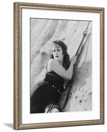 Hanging on for Dear Life--Framed Photo