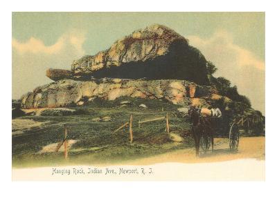 Hanging Rock, Newport, Rhode Island--Art Print
