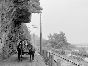 Hanging Rock on the Susquehanna, Near Danville, Pa.