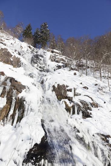 Hangloch Wasserfall close Todtnau, Black Forest, Baden-Wurttemberg, Germany-Markus Lange-Photographic Print