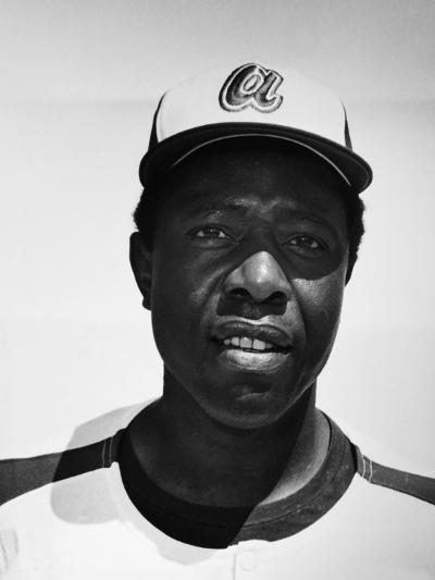 Hank Aaron (1934-)--Giclee Print