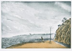 Windy Beach by Hank Laventhol