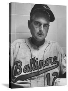 Baltimore Orioles Manager Paul Richards by Hank Walker
